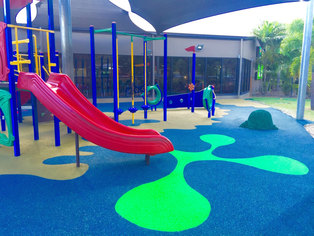 safe flooring - playground soft fall